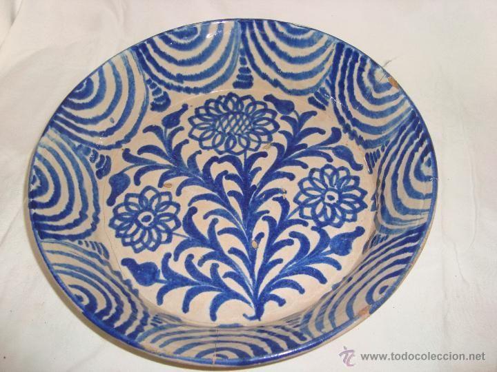 Fuente en cerámica de Fajalauza