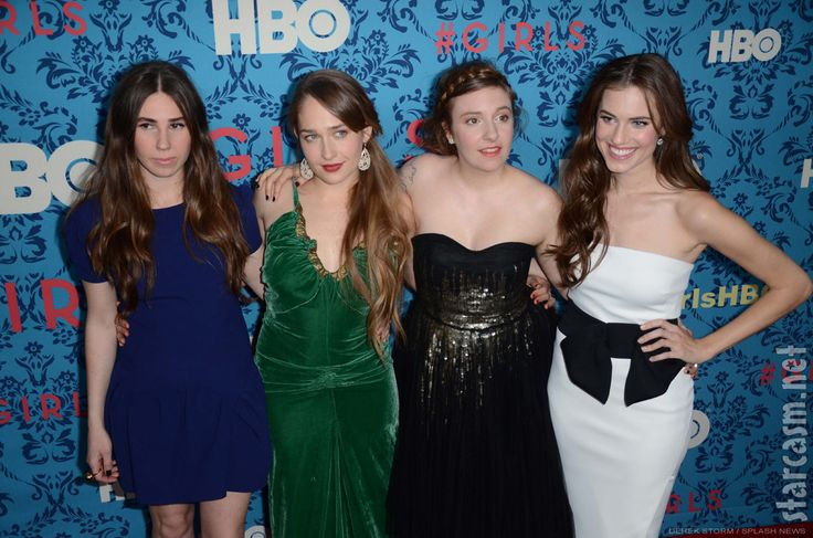 Very very funny women (Girls, HBO)