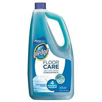 Pledge Floor Care Concentrate Multi Surface Cleaner Glade Rainshower, 32 oz - Pack of 5
