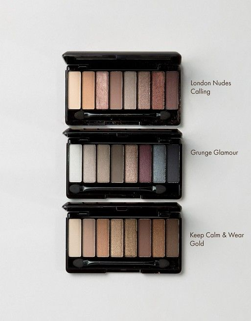 Rimmel London Magnifieyes Eyeshadow Palette (Tati recommended; only 7.99; reviewed London Nude Calling w/only one matte)
