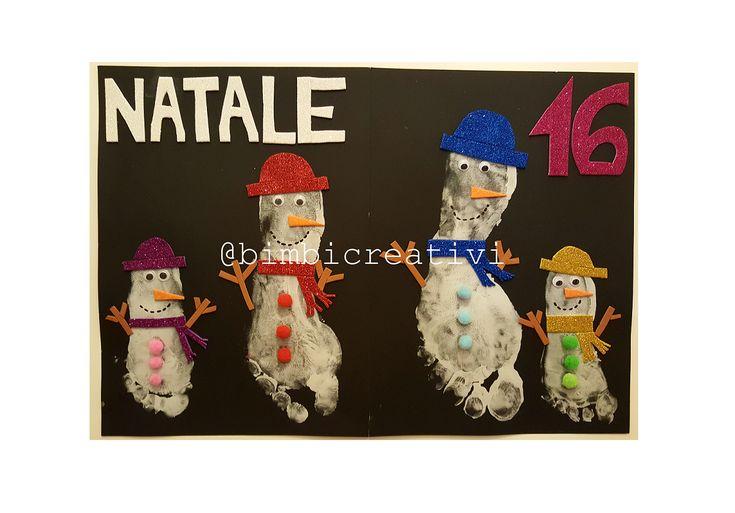 NATALE:+Lavoretti+con+le+IMPRONTE+dei+PIEDI