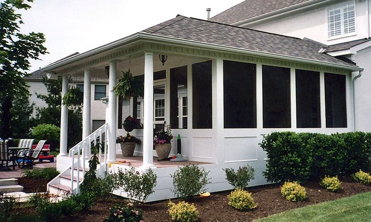 17 best ideas about enclosed porch decorating on pinterest for Enclosed porch plans free