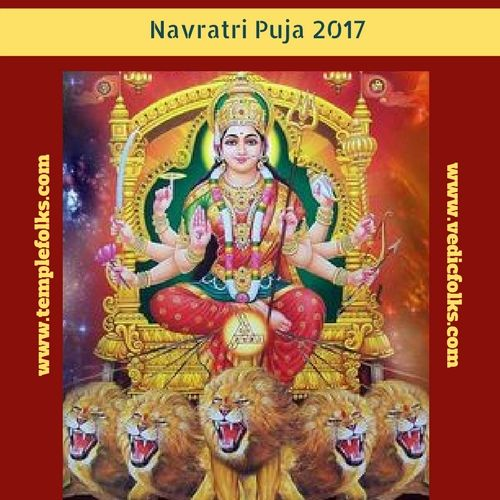 "Navratri Puja is the  right time to reach the goddess through the devotion. <a href=""http://www.vedicfolks.com/life-time-management/karma-remedies/shared-homam/navratri-puja.html""> Navratri puja </a> helps to gain the postive energy."