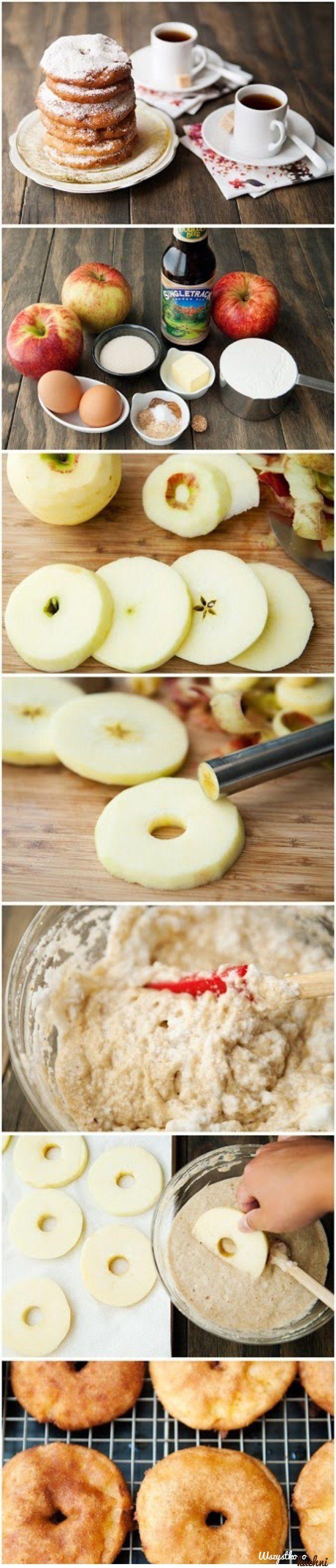 Przepis na placuszki z jabłkami inaczej...