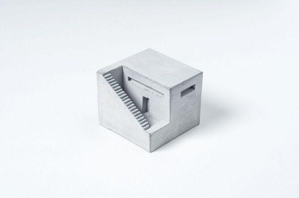 Miniature Concrete Home #1  Price : €31 Euro