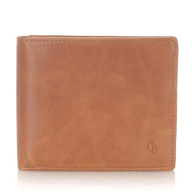Bruine portemonnee, klein formaat, niet perse dit model maar qua idee (ook niet zo duur haha)
