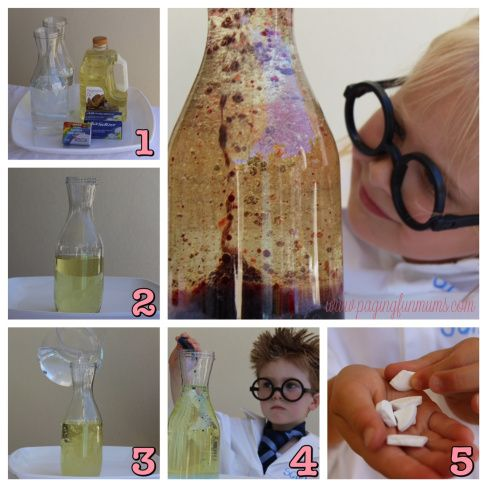 DIY Lava Lamp, Erupting Volcano & MORE. Fun Science Experiments for Kids! -