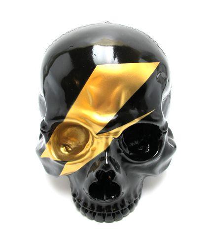 1/1 Skull Head Pop Black by Secret Base