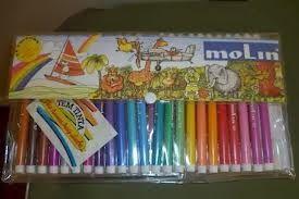 Ainda sou do tempo: ... dos estojos canetas Molin