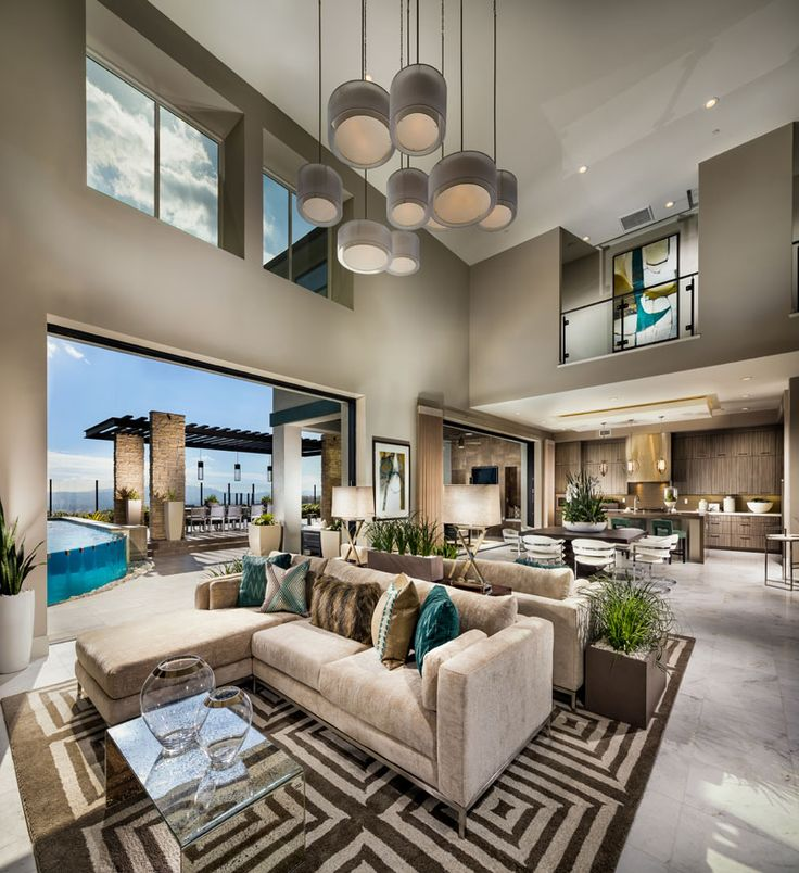 Luxury House In Los Angeles California: The Cascades Collection At Westcliffe