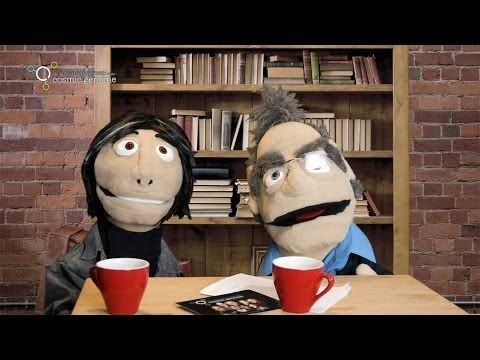 Puppet versions of Prof. Brian Cox (physicist) and Robin Ince (presenter). | Bio (Ince): http://en.wikipedia.org/wiki/Robin_Ince | Bio: (Cox): http://en.wikipedia.org/wiki/Brian_Cox_%28physicist%29