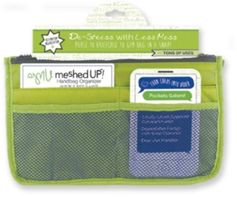Wholesale Meshed Up Handbag Organizer - Green (Case of 20)
