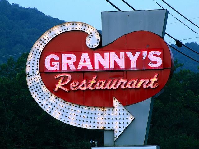 Ate at Granny's Restaurant, Cherokee
