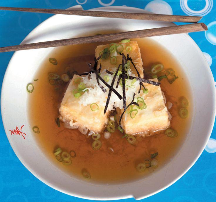 AGADASHI TOFU Recipe in my book 'JANELLAs SUPERNATURAL FOODS'
