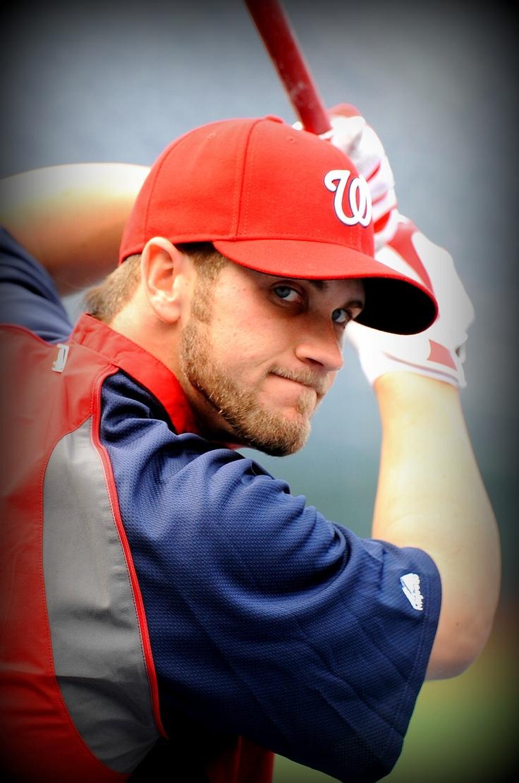 2011 No. 1 Draft pick Bryce Harper makes his Major League debut - April 28, 2012.