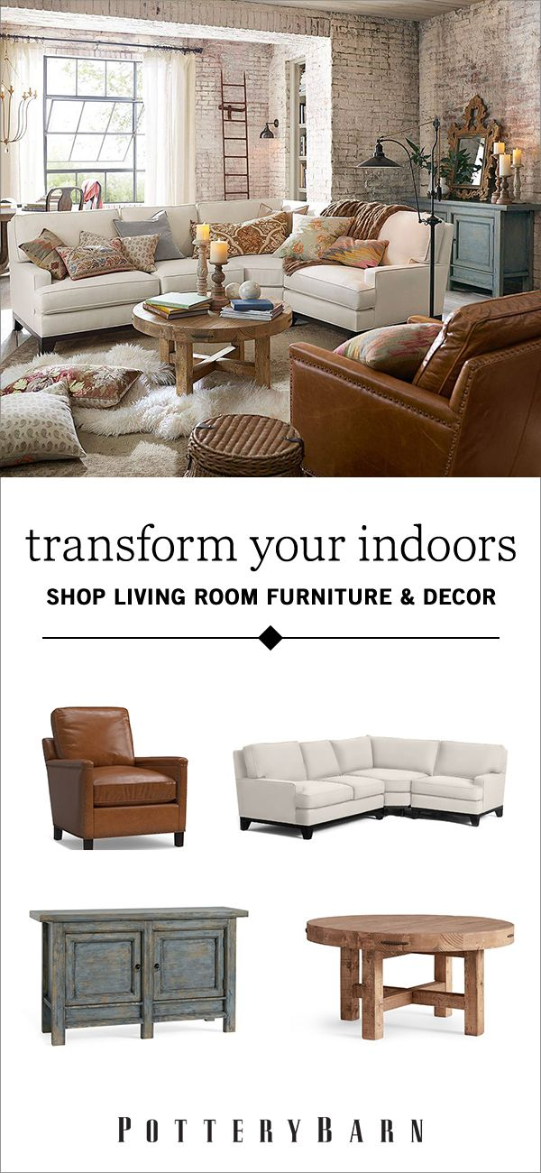 Picture your ideal living room. Whether it's a cushy home theater, a classic arrangement of sofas or a welcominggame room, you can make your dream living room design come to life with Pottery Barn's fantastic furniture collections. Shop today.