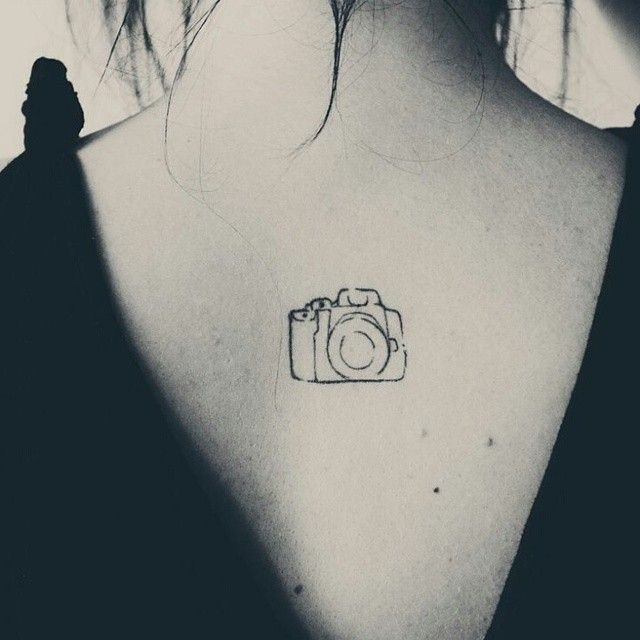 a little camera...seems fitting