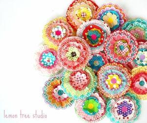{DIY Cupcake Liner Flowers}