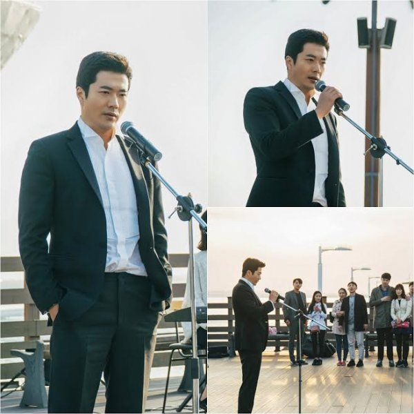 """""""Mystery Queen"""" Kwon Sang-woo goes from wild detective to busking singer? @ HanCinema :: The Korean Movie and Drama Database"""