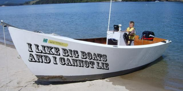"""Ahoy! Check Out These 20 Very """"Punny"""" Boat Names: 20 Very """"Punny"""" Boat Names"""