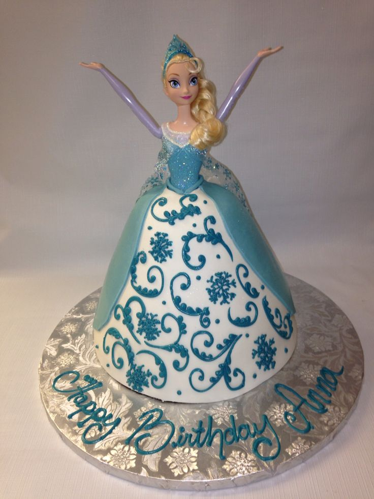17 Best ideas about Frozen Barbie Cake on Pinterest Elsa ...