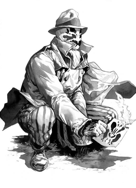 Watchmen - Rorschach by Stephane Perger *