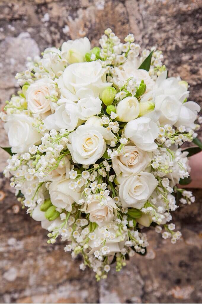 Stephanie Saunders Floral Design lily of the valley bouquet