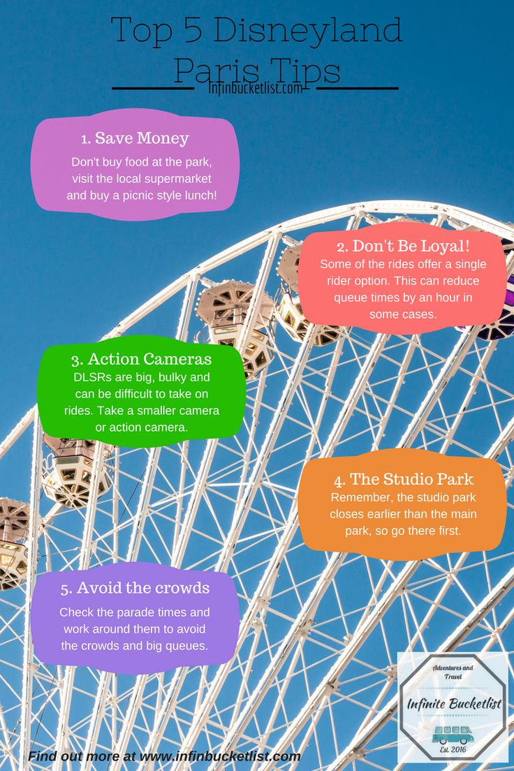 Visiting Disneyland Paris soon? Check out these top tips! Www.infinbucketlist.com #travel #paris #france #wanderlust #disney #travelblog #blog #infinbucketlist #disneyland   #toptips