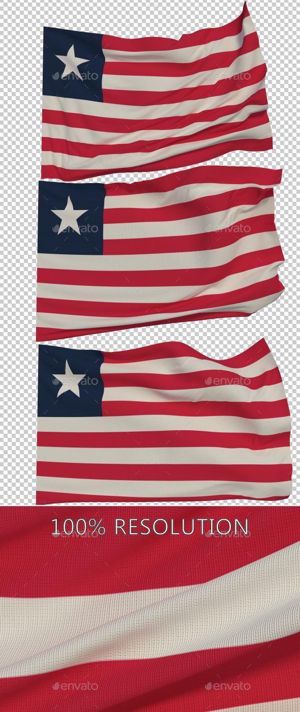Flag of Liberia - 3 Variants