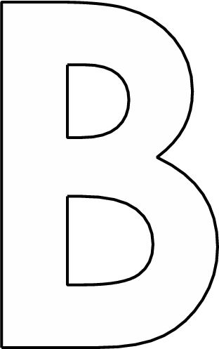 alfabet b groot met afbeeldingen brief alfabet