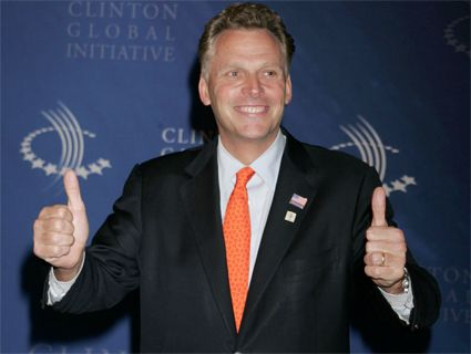 """""""I can't believe Terry McAuliffe is going to be governor of Virginia"""" Mother Jones"""