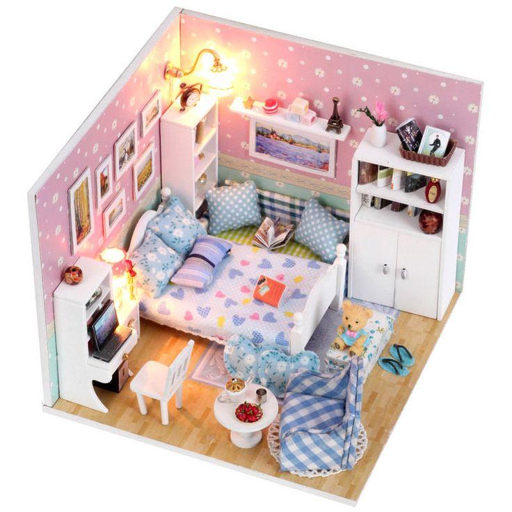 Kits dream DIY Wood Dollhouse miniature with