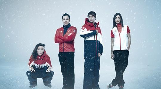 Team GB Winter Sochi Kit