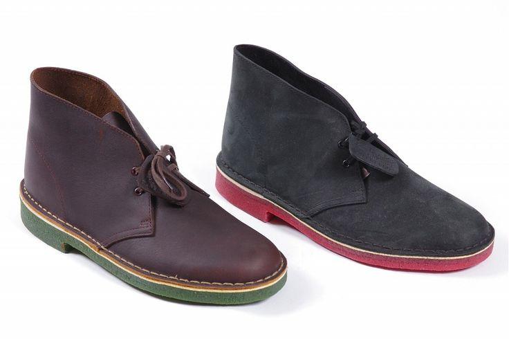 Clarks Men Shoe Black Warm Inside Wool