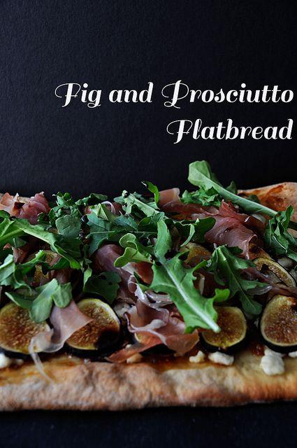 Fig_Proscuitto_Flatbread 3 by Amanda Frederickson Smiley, via Flickr