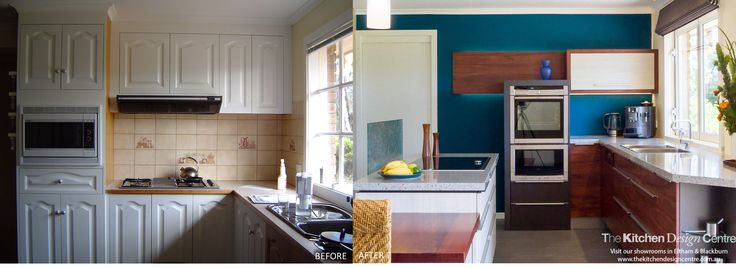 The perfect, and yet subtle blend, of contemporary and eclectic in this small galley kitchen. www.thekitchendesigncentre.com.au @thekitchen_designcentre
