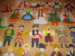 Название национальных костюмов народов мира