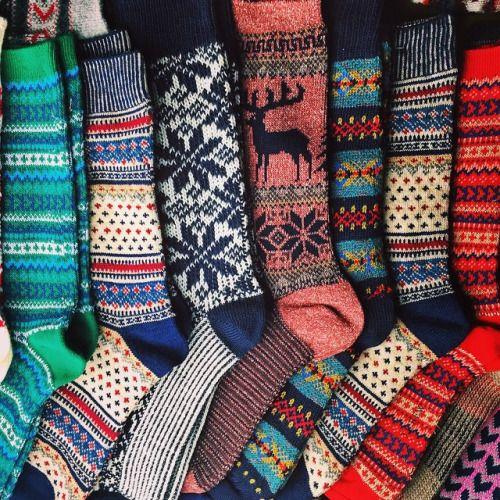 Kieljamespatrick: Packed up all my favorite feet sweaters
