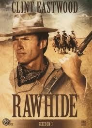 Rawhide, a great Western TV show. Made Clint Eastwood a star in his role as Rowdy Yates.
