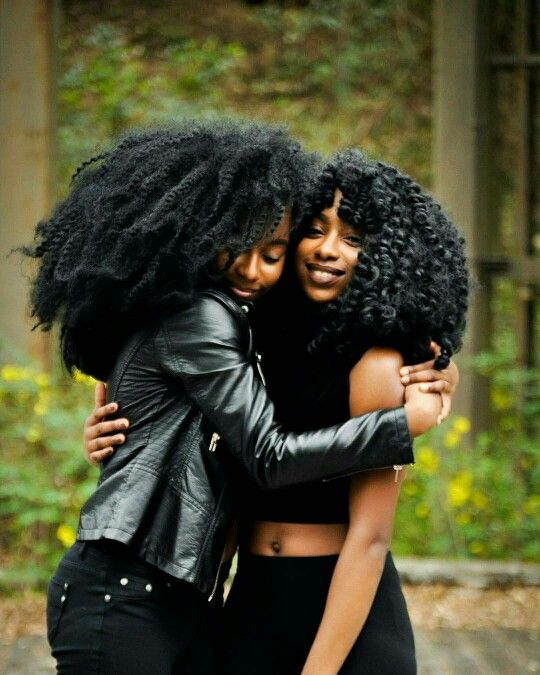 """""""Thank you for being natural!"""". """"Lol.Same to you sista."""""""