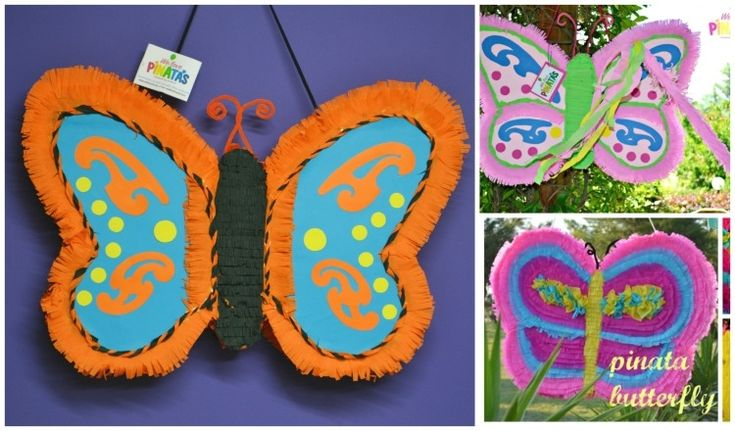 pinata butterfly, πινιάτα πεταλούδα, Πινιάτες οι αγαπημένες! (updated!) - Anthomeli