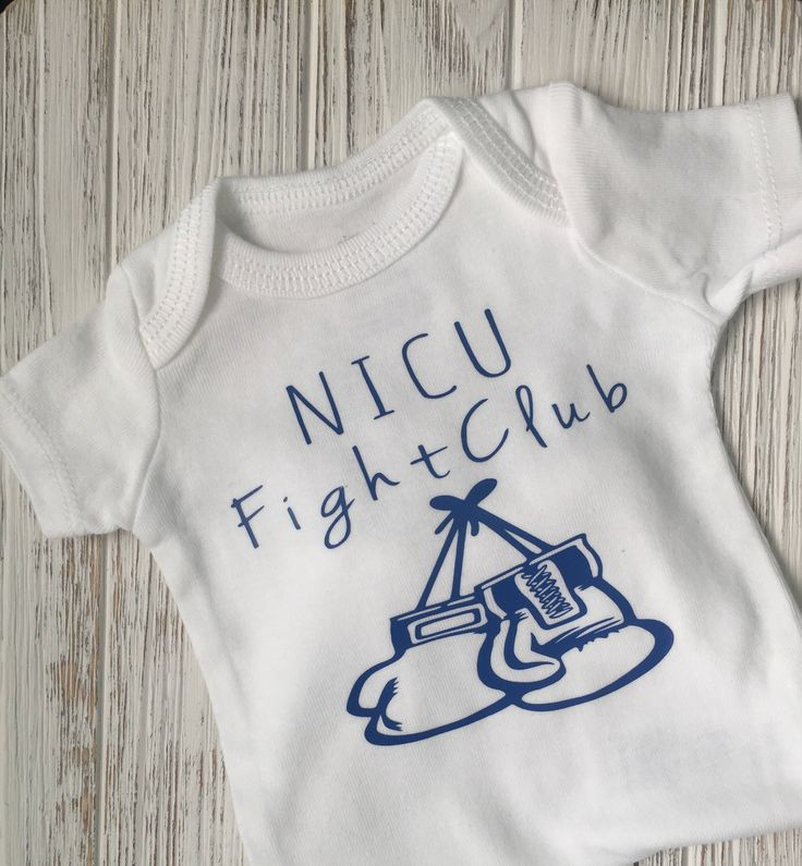 A personal favorite from my Etsy shop https://www.etsy.com/listing/538664156/preemie-fight-club-bodysuit-preemie-boy