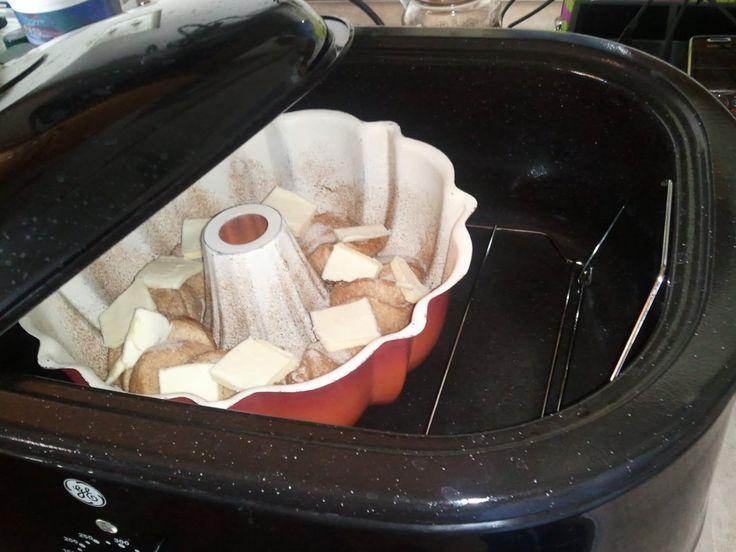 betsy-betsysstuff-betsy: Electric Roasting Pan Monkey bread