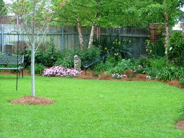 spring southern landscape backyard dream gardens pinterest