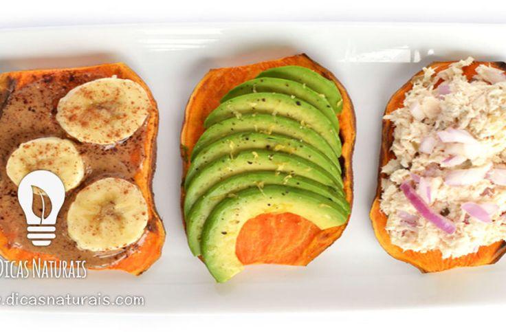 Experimente já estas torradas saudáveis de batata doce!