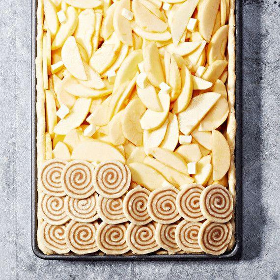 How to make the Cinnamon Swirl Shingled Pie Crust