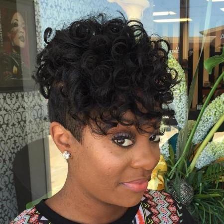 1000 ideas about Curly Undercut on Pinterest