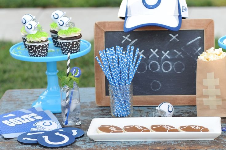 Are you Ready for Some Football?  Tailgate themed Football Party Ideas