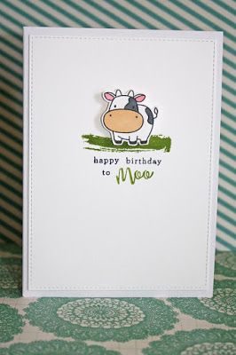 Carla's scrappy tales: A couple of clean and simple cards