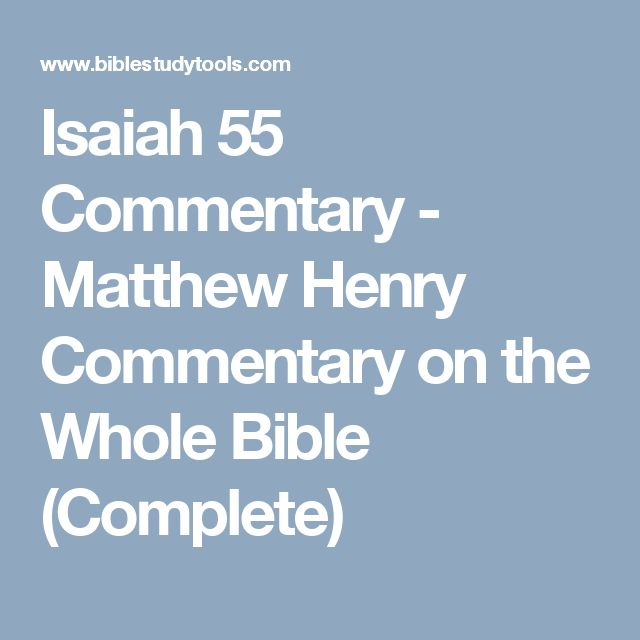 Overview - James Burton Coffman Commentaries on the Bible